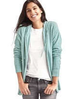 Gap Soft zip hooded sweater