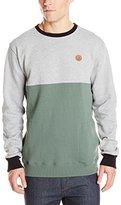 Volcom Men's Single Stone Color Block Crew Sweatshirt