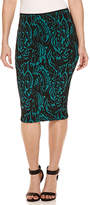 Bisou Bisou Jacquard Pencil Skirt