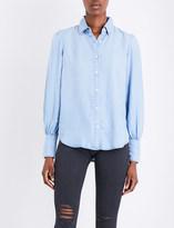 Frame Feminie chambray blouse