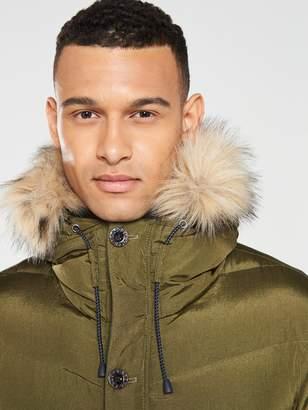 Pretty Green Bowman Padded Jacket - Khaki