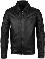 Schott Nyc Owen Black Leather Jacket