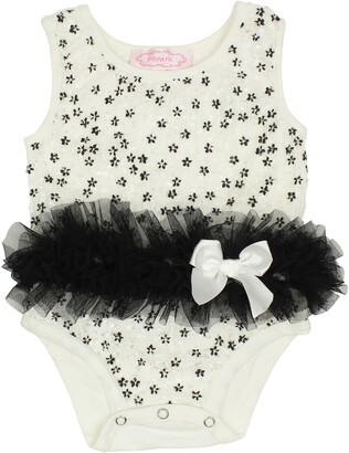 Popatu Embroidered Tutu Bodysuit