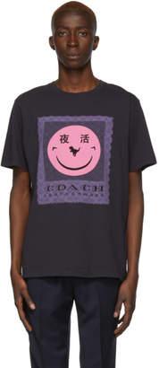 Coach 1941 Black Yeti Out Edition Rexy Logo T-Shirt