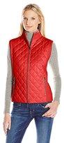 Anne Klein Women's Quilted Front Sweater Vest