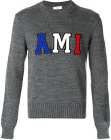 Ami Alexandre Mattiussi crew neck sweater - men - Virgin Wool - XS