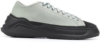 Oamc oversized sole sneakers