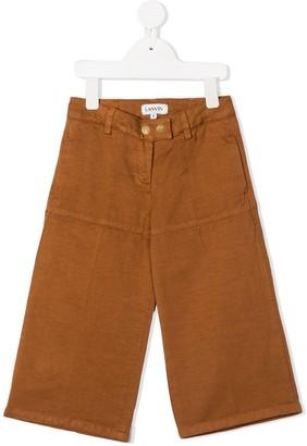 Lanvin Enfant Straight-Leg Trousers