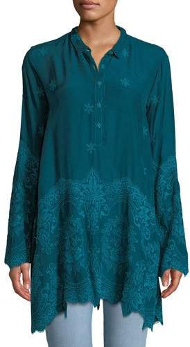 Johnny Was Love Embroidered Easy Tunic
