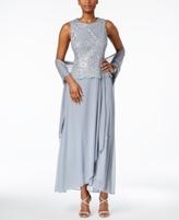 Alex Evenings Petite Lace A-Line Dress
