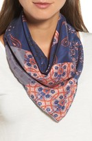 Treasure & Bond Women's Paisley Meadow Square Silk Scarf