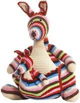 Anne Claire Hand-Crocheted Cotton Rainbow Kangaroo