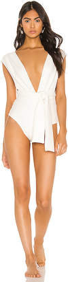 Haight Band V Crepe Maillot One Piece