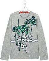 Kenzo 'Jungle Tiger' print T-shirt