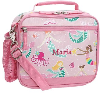 Pottery Barn Kids Mackenzie Pink Mermaid Friends Glow-in-the-dark Lunch Boxes