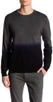Vince Camuto Dip-Dye Crew Neck Sweater