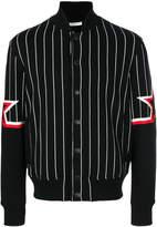 Givenchy striped bomber jacket