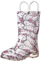 Western Chief Hello Kitty Glitter Light-Up Rain Boot(Toddler/Little Kid)