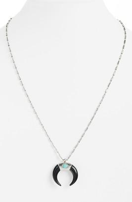 Isabel Marant Zanzibar Horn Pendant Necklace