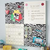 PBteen 2x2 Zebra + Dry-Erase Board Style Tile Set