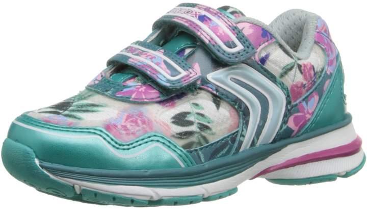 Geox J Top Fly Girl 5 Sneaker (Toddler/Little Kid/Big Kid)