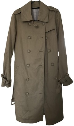 Non Signã© / Unsigned Beige Cotton Trench coats