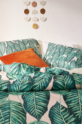 Deny Designs 83 Oranges For Deny Tropical Serenity Duvet Cover