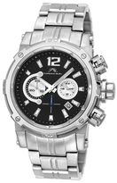 Men's Antonio Analog Stainless Steel Watch
