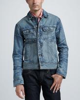 Rag and Bone Rag & Bone Medium-Wash Denim Jacket