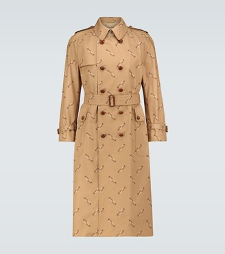 Gucci Exclusive to Mytheresa - Firenze cotton trench coat