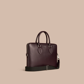 Burberry The Slim Barrow In London Leather