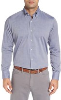 Peter Millar Men's Regular Fit Cotton & Cashmere Sport Shirt