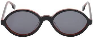 Le Specs Impromtus Round Acetate Sunglasses