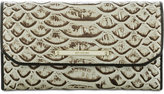 Brahmin Dogwood Soft Checkbook Wallet