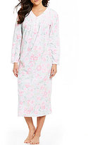 Miss Elaine Floral Microfleece Nightgown
