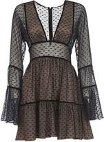 DSQUARED2 Semi See-through Short Dress