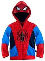 Disney Store Boys Spiderman Spider Man Hoodie Jacket Sweatshirt Small 5 - 6 5T