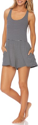 Splendid Soft Sweet Striped Cover-Up Romper