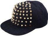 Tonsee Neutral Adjustable Rivet Punk Hip-hop Baseball Cap Flat-brimmed Hat