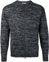 Factotum slub knit zipped sweatshirt - men - Cotton/Nylon - 44