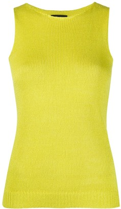 Theory Sleeveless Knitted Top