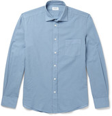 Hartford - Slim-fit Cotton-poplin Shirt