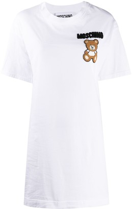 Moschino Teddy Bear beaded T-shirt dress