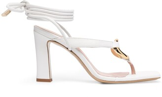 Gia Couture Levante Bis lace-up sandals