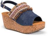 Muk Luks Marion Wedge Sandal - Women's