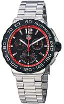 Tag Heuer Men's Formula 1 Chronograph Black Dial Stainless Steel