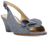 Naturalizer Tinna N5 Contour Wedge Denim Pumps