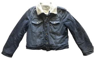 Current/Elliott Current Elliott Blue Cotton Jackets