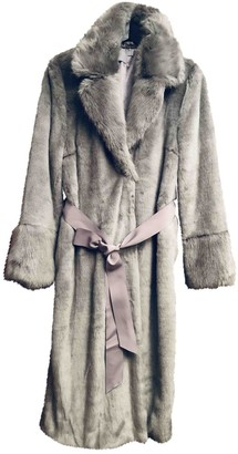 Asos Grey Faux fur Coat for Women