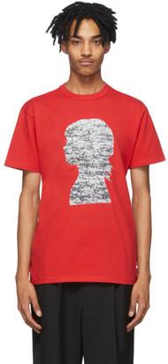Vans Red Jim Goldberg Edition Silhouette T-Shirt